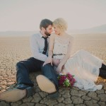Jillian and Andrew's Las Vegas Desert Elopement