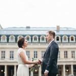 Palais Royale Paris Elopement: Davina and Kyle