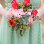 Minty Fresh: 5 Hemlock Green Color Palettes for your Wedding Day