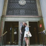 Andreas and Corinna's New York City Hall Elopement