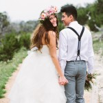 Sonya and Jonathan's Texas Outdoor Chapel Wedding