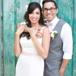 Román and Rossilyn's Hidden Garden Phoenix Elopement