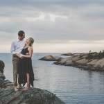Lewis and Niccola's $5,000 Georgian Bay Cottage Wedding