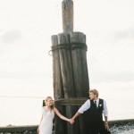 Grace and Caleb's $6000 Florida Beach Wedding