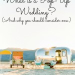 What is a Pop-Up Wedding?