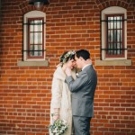 Célèste and Ryan's Cincinnati Winter Barn Wedding