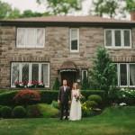 Leigha and Todd's $5,000 Ontario Backyard Wedding