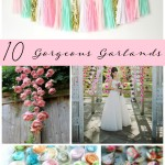 10 Gorgeous Garlands for Your Wedding Day