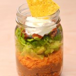 Nachos-in-a-Jar: Bridal Shower Ideas