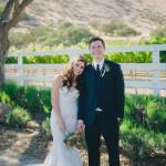 Roya and Ryan's Colorful California Cabin Wedding