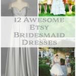 12 Awesome Etsy Bridesmaid Dresses