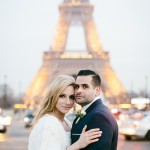 Ashley and Chase's Paris Elopement at the Louvre