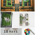 Letter Love: 10 Ways to Use Letters in Your Wedding Decor