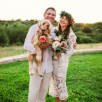 Ines and Wes's $5,500 Boho Texas Wedding
