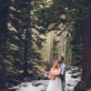 Tara and Christopher's Unconventional and Rustic Gore Creek Elopement