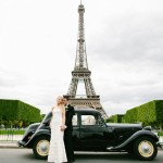 Derek and Emily's Spring Elopement in Paris