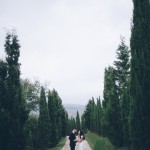 Leyna and Michael's Intimate Outdoor Tuscan Wedding