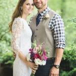 Cassie and Justin's Rustic North Carolina Elopement
