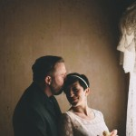 Gillian and Brian's Victorian At-Home Wedding in Colorado