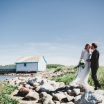 Anneke and Cameron's Outdoor DIY Nova Scotia Wedding