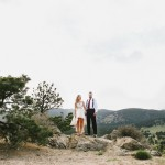 Cragon and Will's Rocky Mountain Elopement