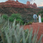 Harley and Joseph's Briar Patch Inn Wedding in Sedona, Arizona