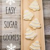 DIY Easy Sugar Cookies