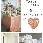 Glam Up Your Wedding Table! 10 Gorgeous Tablecloths and Table Runners
