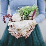 Simple BoHo Styled Shoot: Ruby Tones & Tulle Skirts