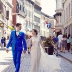 Stéphanie and Francis' Alice in Wonderland Intimate Wedding