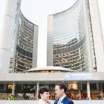 Mallory and Chris's Toronto City Hall Wedding