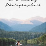 An Open Letter to Wedding Photographers