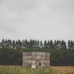 Aimee and Brian's Rustic Oregon Hazelnut Orchard Wedding