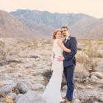 Danielle and Matt's Palm Springs Mountain Elopement