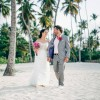Evelyn and Chad's Bougainvillea-Inspired Beachfront Wedding in Punta Cana