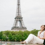 Ian and Bianca's Romantic Shangri-La Elopement in Paris