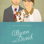 10 Charming Custom Portrait Invites