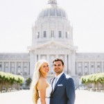 Laura and Ben's San Francisco Palace of Fine Arts Picnic Wedding