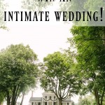 Win an Intimate Wedding!