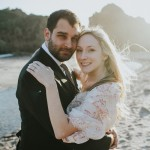 Victoria and William's Beach Wedding in Big Sur