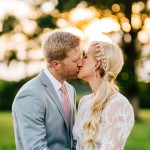 Kelly and Dan's Romantic Backyard Wedding in Maryland