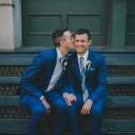 Erik and Matthew's Modern NYC Elopement