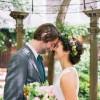 Kate and Scott's Intimate Garden Elopement in Philadelphia