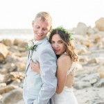 Rachel and Trager's Intimate Malibu Wedding