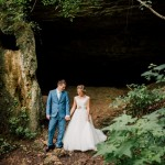 Sarah and Patrick's Intimate Waterfall Ceremony