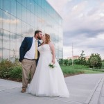 Dana and Christopher's DIY Museum Wedding
