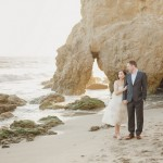 Nani and Alexei's Simple California Beach Elopement