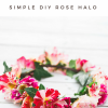 DIY Rose Flower Crown