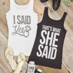 Fab and Fun Tops for Your Bridesmaid Weekend