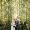 Elisha and Michael's $7,000 Lodge Wedding